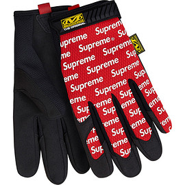 Supreme - Supreme® / Mechanix® Original Work Gloves ( Red )