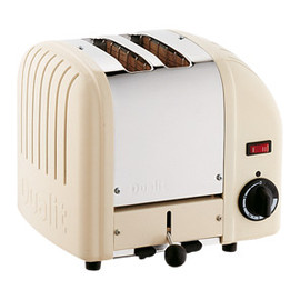 THE CONRAN SHOP - DUALIT 2 SLOT TOASTER CREAM