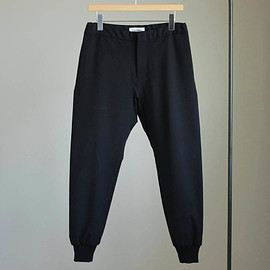 YAECA - 2way Pants - rib #navy/set up