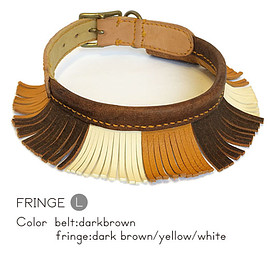 ikoyan for doggy - Garland Collar Fringe