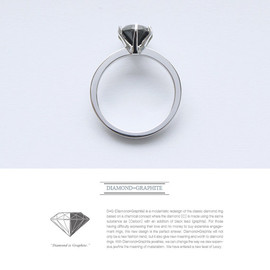 i3Lab - The New Diamond propose, DIAMOND IS GRAPHITE ( engagement ring with new value )