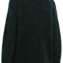 Acne Studios - Dramatic moh dk forest green