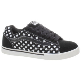 VANS - No Skool ( Black/White Polka Dots)