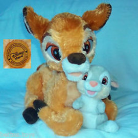 Disney - BAMBI and THUMPER SOFT TOY SET