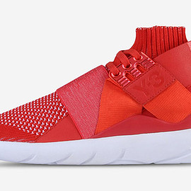adidas - Y-3 Qasa Elle Lace Knit all-red