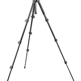 Manfrotto - 293 Aluminum Kit, Tripod 4 sections with Ball Head QR