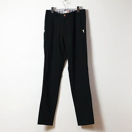 ACTS - [ACTS] 2WAY CHINO STRETCH PANTS (BLACK)