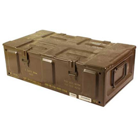 US Military Surplus - 81 MM Mortar Metal Ammo Can