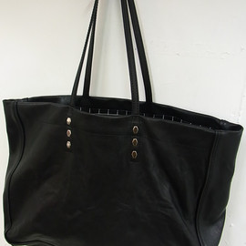 assemble - a.k.a. affa - LEATHER TOTE BAG