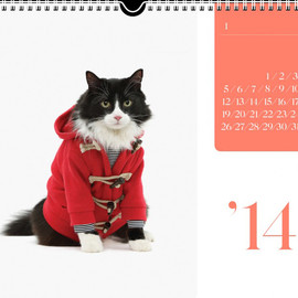 united bamboo - 2014 Cat Calendar