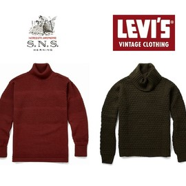 S. N. S. Herning - sns herning levis vintage clothing knitted sweaters SNS HERNING VS LEVIS VINTAGE CLOTHING KNITS | MR PORTER SALE