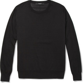 Givenchy - Mesh-Back Cotton Sweater