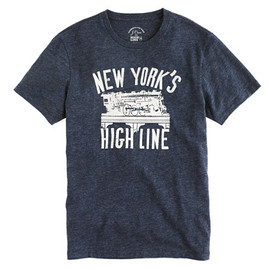 J.CREW - J.Crew for High Line vintage train tee