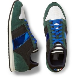 AMI - ami-suede-and-metallic-leather-sneakers-4