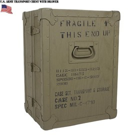 U.S.ARMY, NSN:8115-00-663-0213 - U.S.ARMY CASE,SET,TRANSPORT
