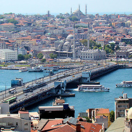 Turkey - Galata Bridge Istanbuhl