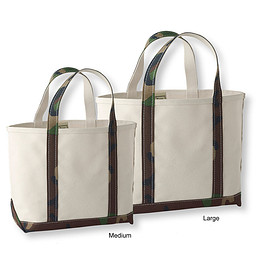 L.L.Bean - Green Camouflage tote