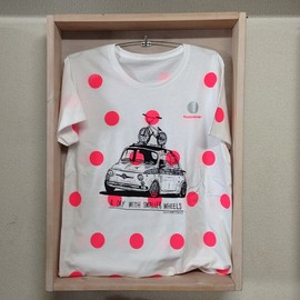 "ENJOY BMX CONTEST - ""ABARTH 595ss"" x Chickennot dot TEE"