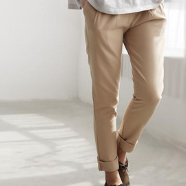 MaLieb - women Haren Trousers/ Casual Slim Pants/ pleated pants/ Small Leg pants