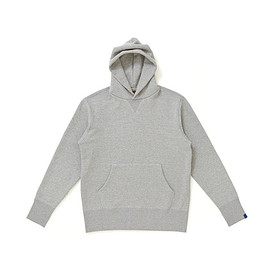 Freemans Sporting Club, Loopwheeler - Hooded Sweatshirt - Grey