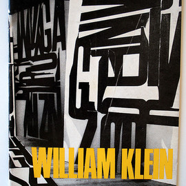 "William Klein - ""William Klein"" Stedelijk Museum Exhibition Catalog, Designed by Wim Crouwel"