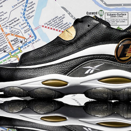 Reebok - Answer 1 - Black/Gold
