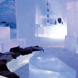 Ice Hotel Sweden - Black Current Absolut Bar
