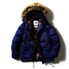 eYe JUNYA WATANABE COMME des GARCONS MAN, THE NORTH FACE - Down Coat