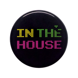 Pixel Party Boy - in the House 缶バッジ