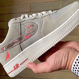NIKE, Staple, SBTG - Air Force 1 Low - Pigeon Fury