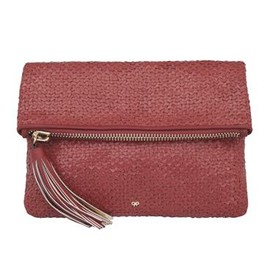 ANYA HINDMARCH - Huxley Clutch - new pre fall collection - Orange