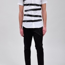 Neil Barrett - striped shirts 2011s/s