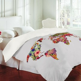 Bianca Green -  Its Your World Duvet Cover