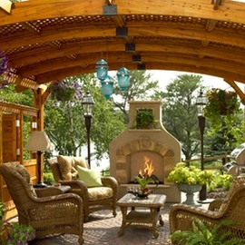 Stone Farm - Outdoor Pergolas