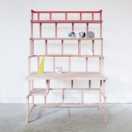 Kristian Andreason & Kristin Leibel Design - Wooden Desk / Shelf