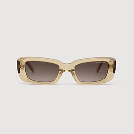 DMY BY DMY - PRESTON (TRANSPARENT BEIGE) RECTANGULAR SUNGLASSES