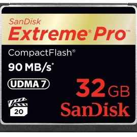 SanDisk - Extreme Pro コンパクトフラッシュ 32GB 90MB/Sec. SDCFXP-032G-J92