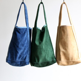 TEMBEA - ALL SUEDE BAGUETTE TOTE