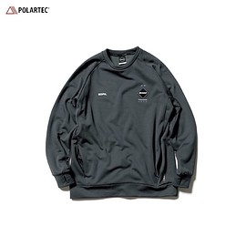 F.C.R.B. - POLARTEC® POWER STRETCH CREW NECK TOP