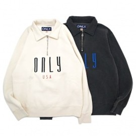 ONLY NY - CONTINENTAL QUARTER ZIP CREW