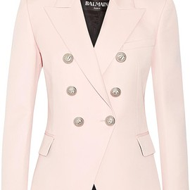 Balmain - Double-breasted wool blazer