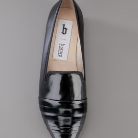 b store - FLAT LEATHER LOAFER