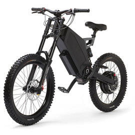Stealth Electric Bike - The Bomber Electric Bike