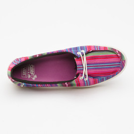 VANS - Mexican Blanket Rata Lo, Women - Pink/Red