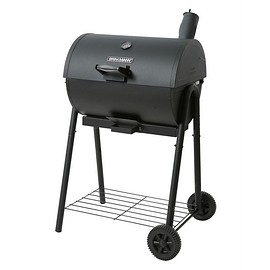 810-5301-6 Smoke'N Grill Charcoal Smoker and Grill, Black
