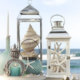 Pottery Barn - Graham Metal Lanterns