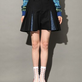 ANREALAGE - FLANNEL CULOTTE SKIRT