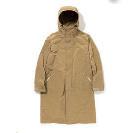 meanswhile - Ventile Sack Cover Rain Coat / MW-JKT16105 / 2016SS