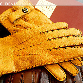 DENTS - DENTS Men's Handsewn unlined Peccary Glove