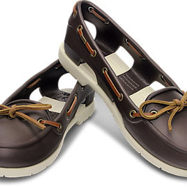 crocs - beach line boat shoe w
